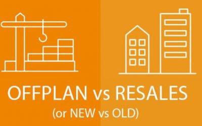 New vs Old …should I buy off-plan?